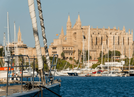 Berths in the heart of Palma de Mallorca